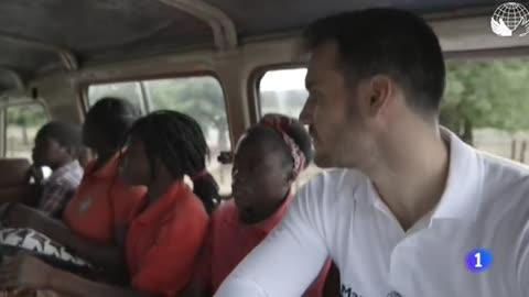 Saúl Craviotto y su lado más solidario en Mozambique