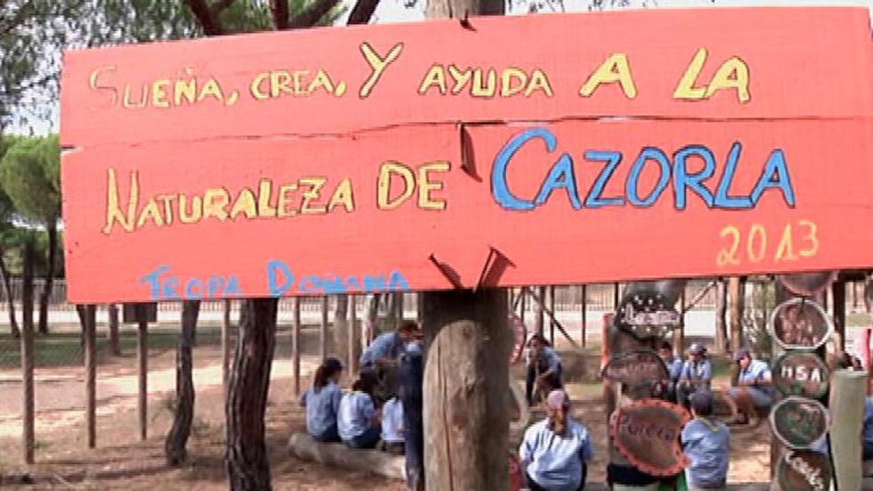 Aquí la Tierra-Scouts que cuidan la tierra en Doñana