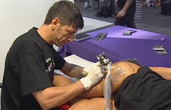 tatuajes en zaragoza. Se celebra en Zaragoza una convención internacional del tatuaje