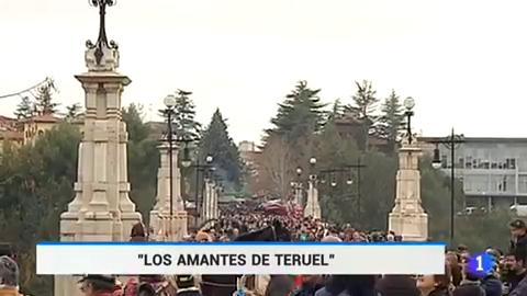 Se colapsa Teruel por un amor de leyenda