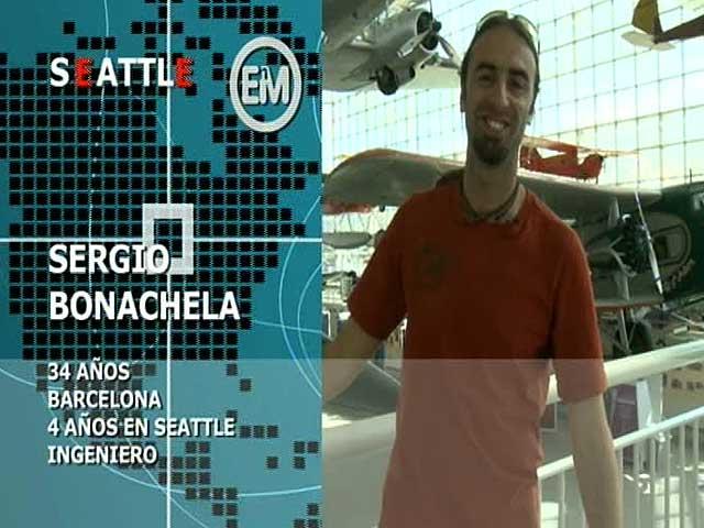 Españoles en el mundo - Seattle - Sergio