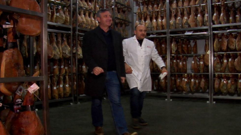 Aquí la tierra - El secadero de jamones más alto de España