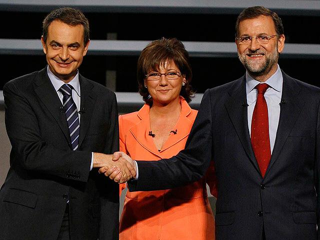 Segundo debate electoral entre Zapatero y Rajoy (integro)