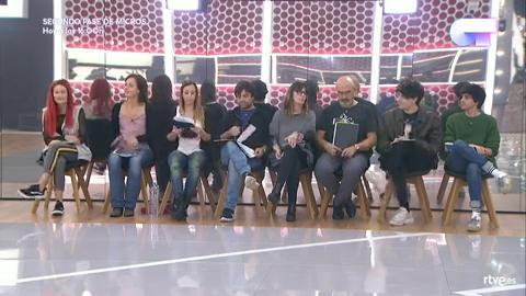 Operación Triunfo - Segundo pase de micros de la gala 8