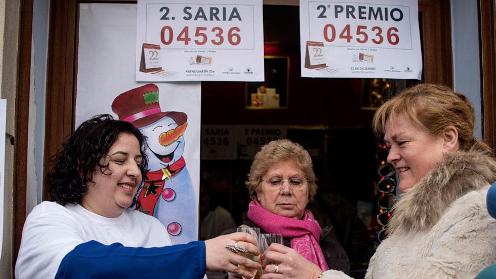 El segundo premio de la Lotería de Navidad ha sido para el 04.536