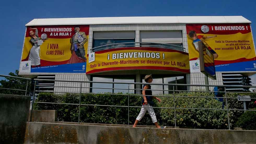 Seguridad máxima en la concentración de la Selección Española