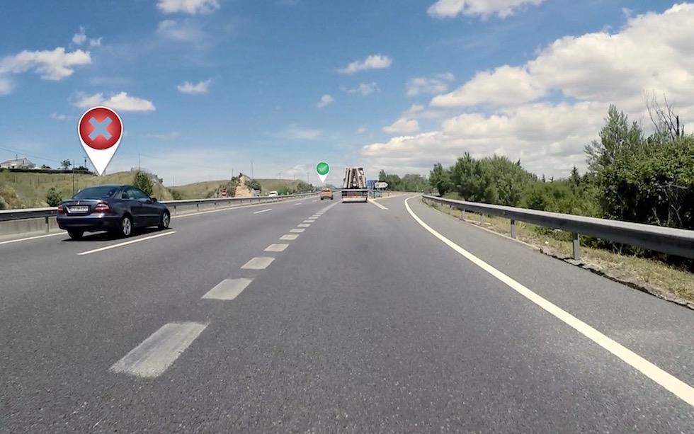 'Seguridad Vital' - 'Radar' - Circular por carril izquierdo de forma continua