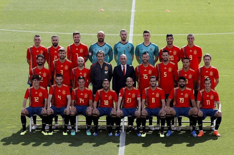 Selección de España para el Mundial 2018