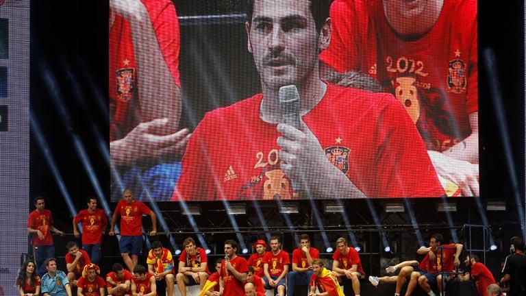 La selección española, un ejemplo para todos, según la CE