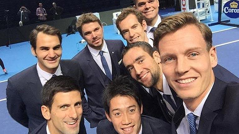 El 'selfie' del tenis mundial