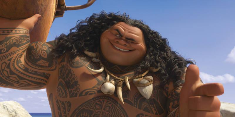 El semidiós Maui ayudará a Vaina en su misión