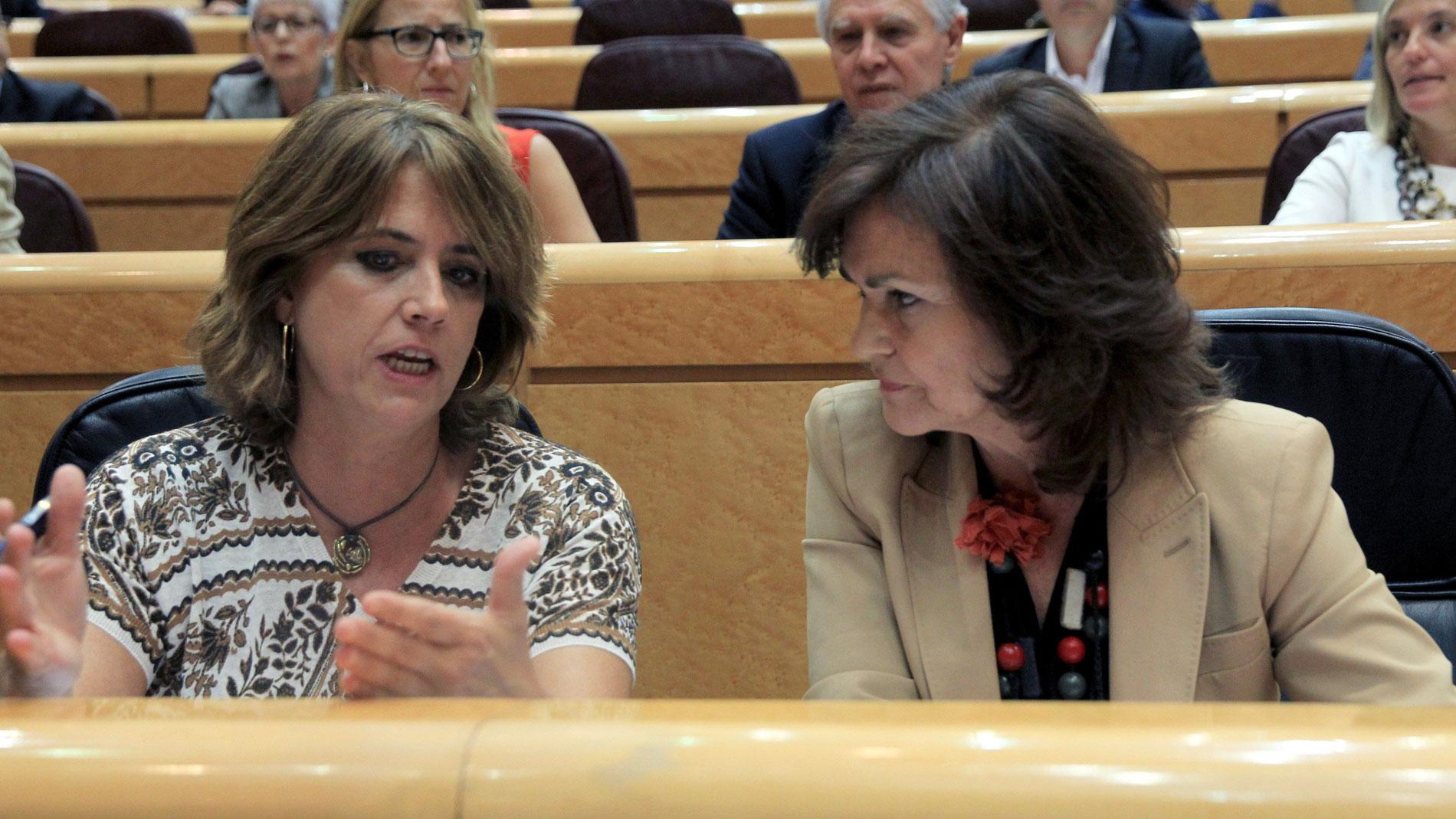 """El Senado reprueba a la ministra de Justicia por """"mentir"""" sobre la defensa de Llarena"""