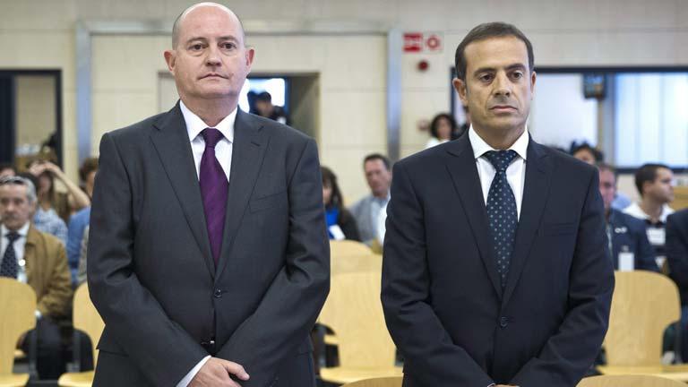 Condenas de año y medio de cárcel a los dos mandos policiales por revelar secretos a ETA