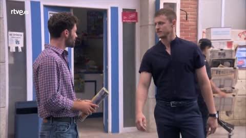 Servir y Proteger - Sergio arremete contra Iván por su trato a Nerea