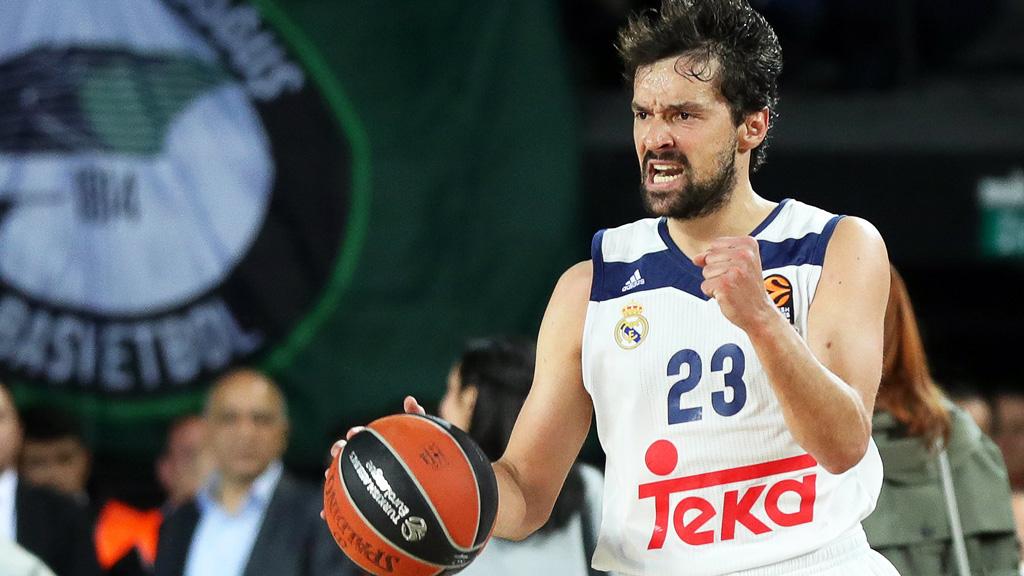 Sergio Llull reaparecerá ante el Panathinaikos