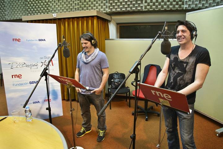 Sergio Peris-Mencheta e Ignasi Vidal.