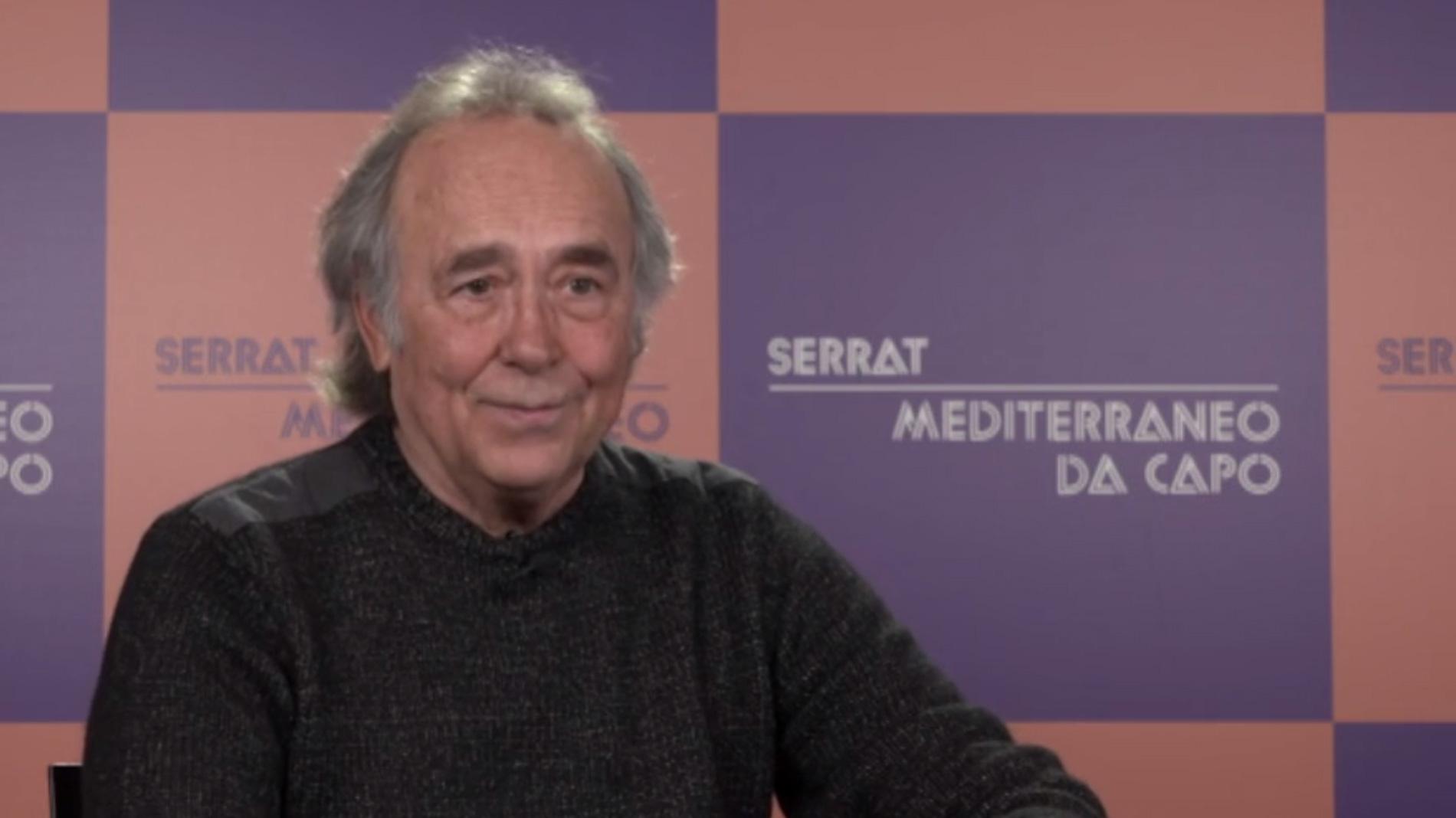 Serrat en cuatro minutos: de Mediterráneo a Cataluña