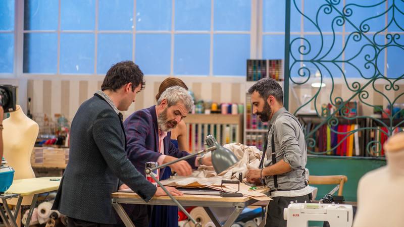 Maestros de la costura - Shaoran casi tira la toalla en la primera prueba