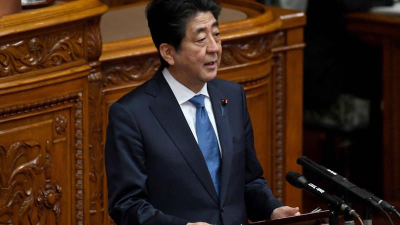 Shinzo Abe valora el