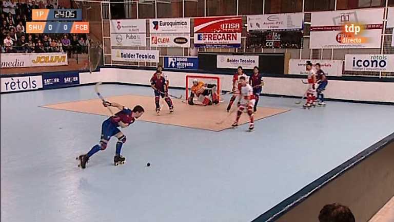 Hockey sobre patines - Liga española: Shum Grupo Maestre - FC Barcelona