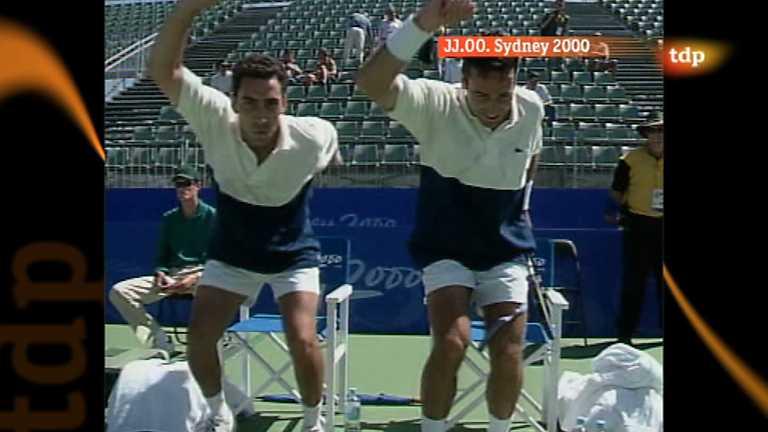 Londres en juego - Sidney 2000 - Tenis dobles masculinos - España-Sudáfrica