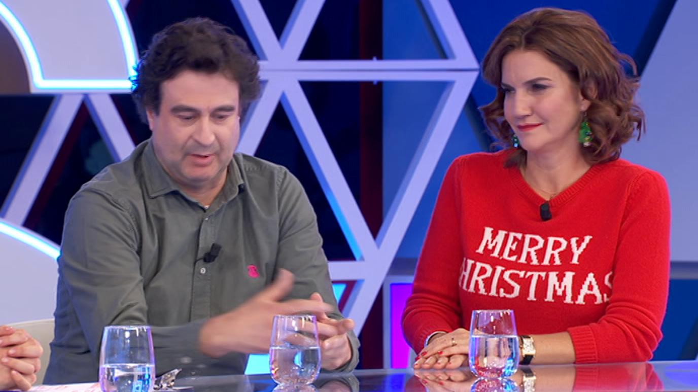 Pepe Rodríguez y Samantha Vallejo-Nágera