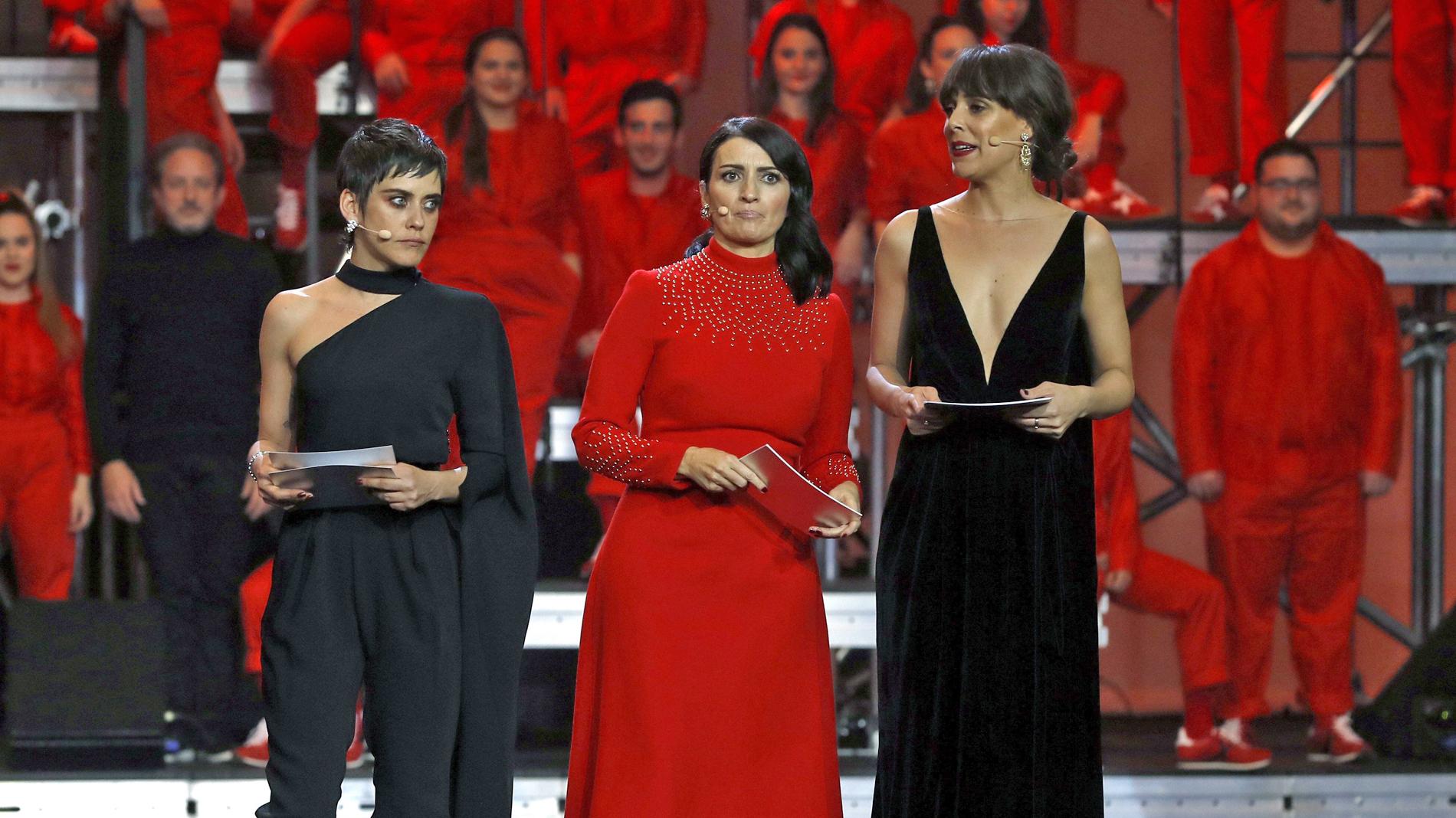 """Silvia Abril, Belén Cuesta y María León hacen un llamamiento a romper con la """"brecha salarial"""" en el cine"""