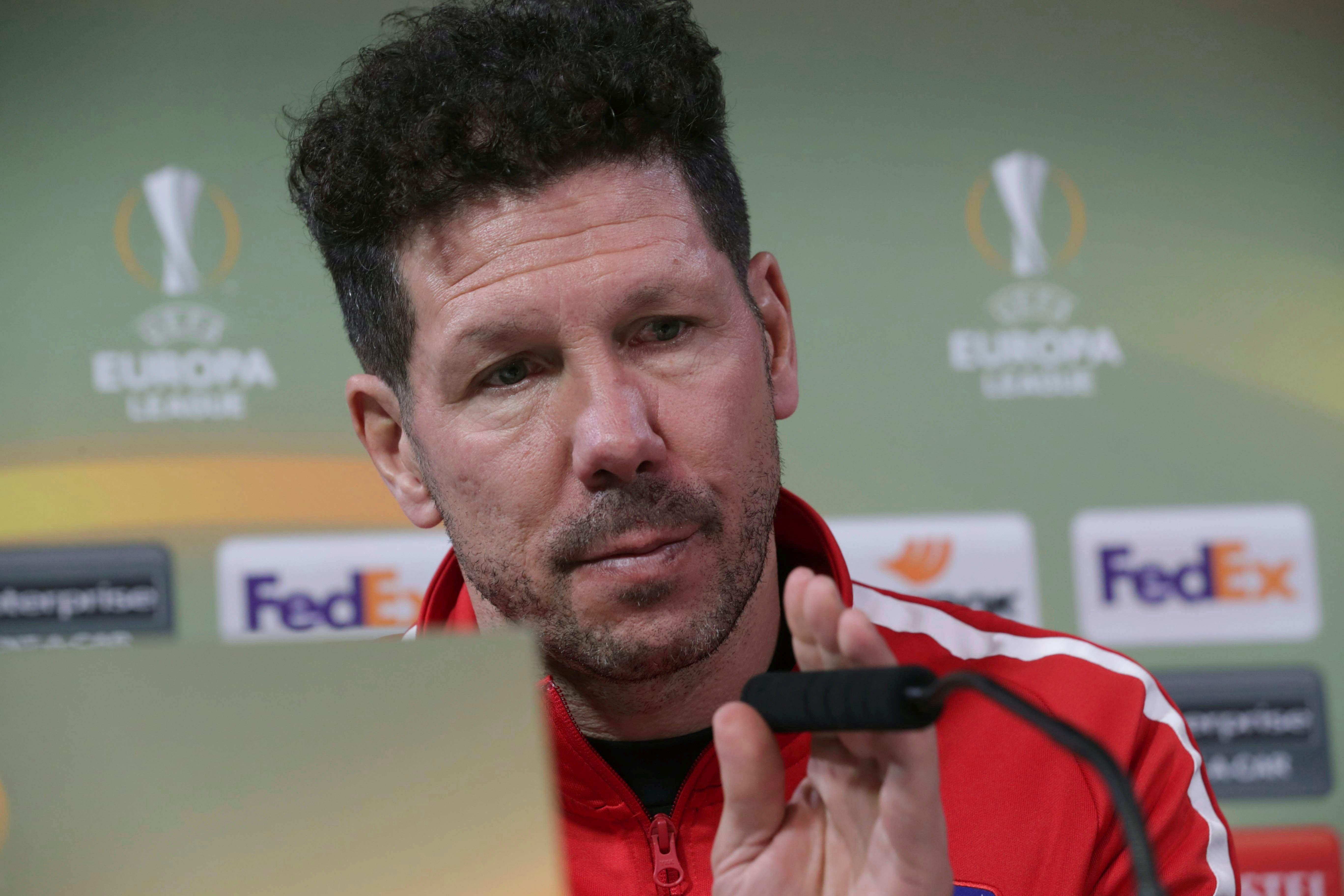 """Simeone afirma que """"no"""" va intentar evitar la salida de Torres"""