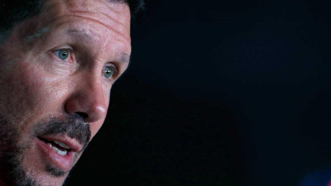 """Simeone: """"Cada día estoy más orgulloso de mis jugadores"""""""