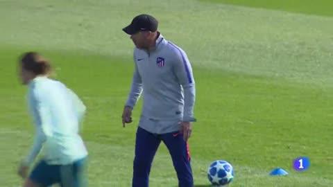 "Simeone: ""Costa nos da fortaleza física y anímica"""