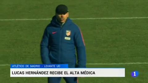 """Simeone: """"Necesitamos a Lucas"""""""