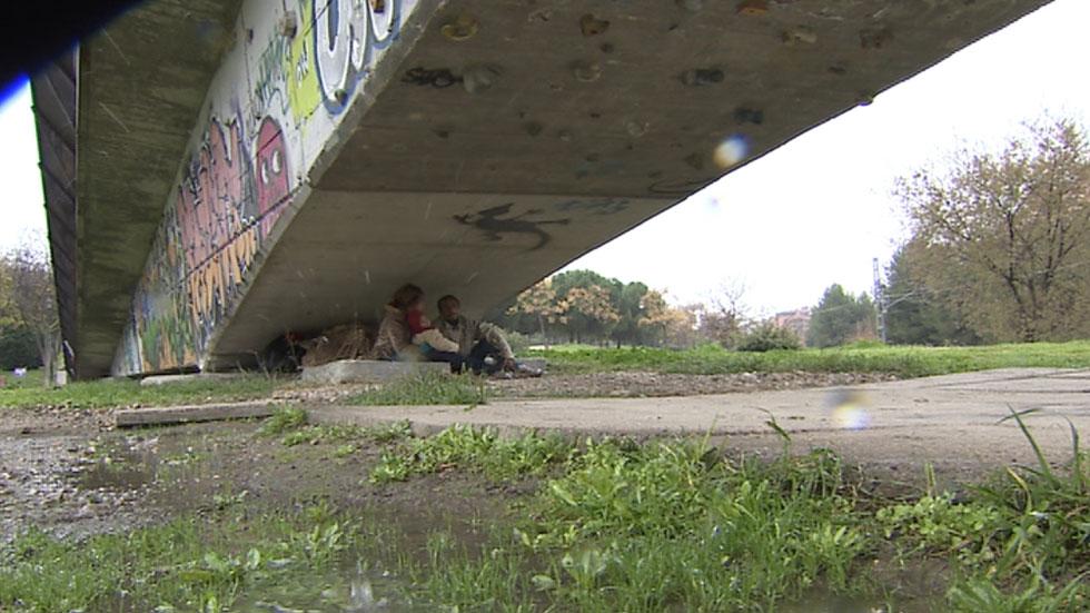 El número de personas sin hogar aumentó un 17% en los últimos dos años