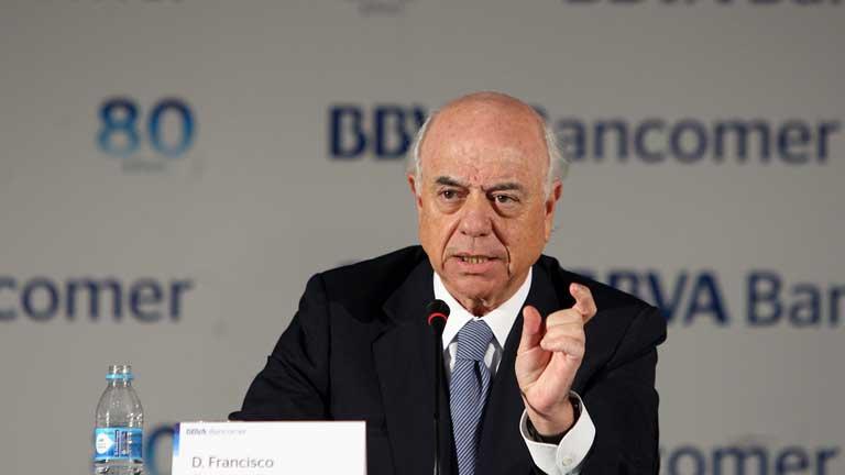 El presidente del BBVA ve la solución a la crisis financiera más en lo político que en lo económico
