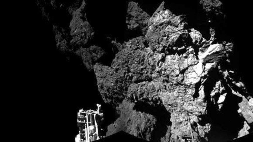 """La sonda Philae cae en modo """"inactivo"""" tras agotarse sus baterías"""