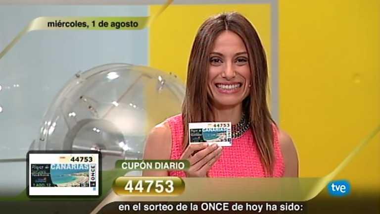 Sorteo ONCE - 01/08/12