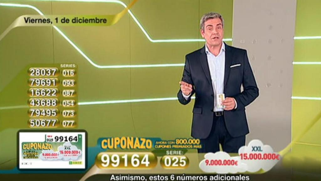 Sorteo ONCE - 01/12/17