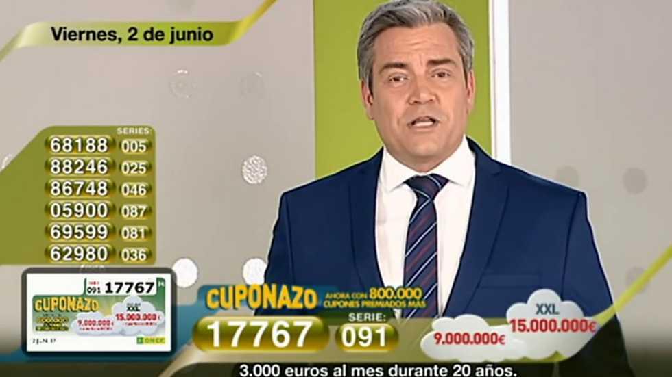 Sorteo ONCE - 02/06/17