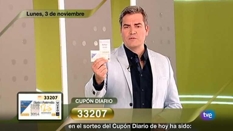 Sorteo ONCE - 03/11/14