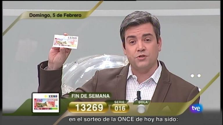 Sorteo ONCE - 05/02/12