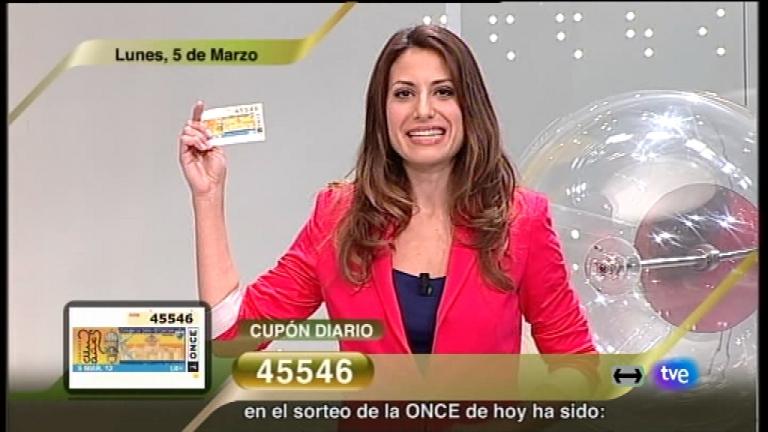 Sorteo ONCE - 05/03/12