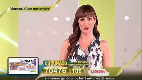 Sorteo ONCE - 10/11/17