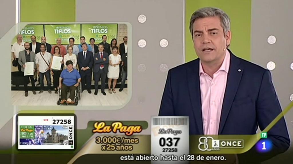 Sorteo ONCE - 11/01/18