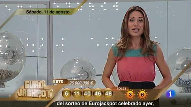 Sorteo ONCE - 11/08/12
