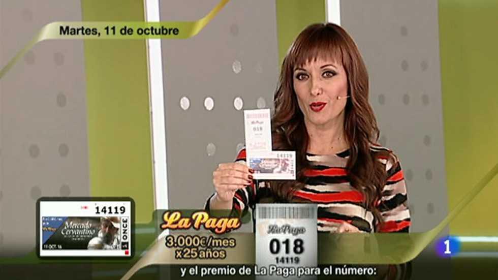 Sorteo ONCE - 11/10/16