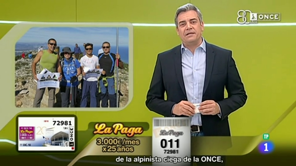 Sorteo ONCE - 11/12/18