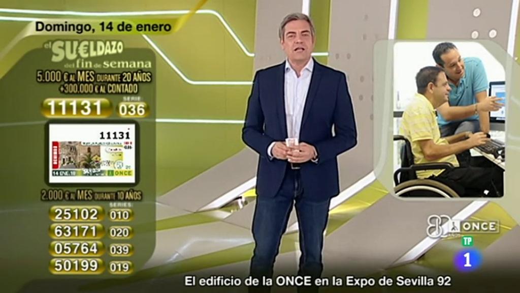 Sorteo ONCE - 14/01/18