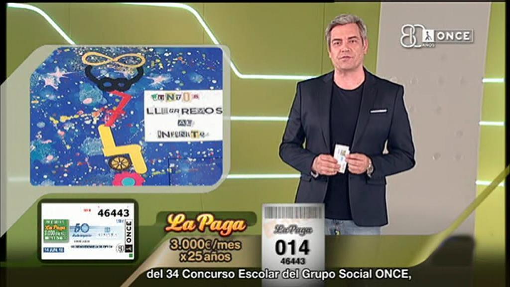 Sorteo ONCE - 14/06/18