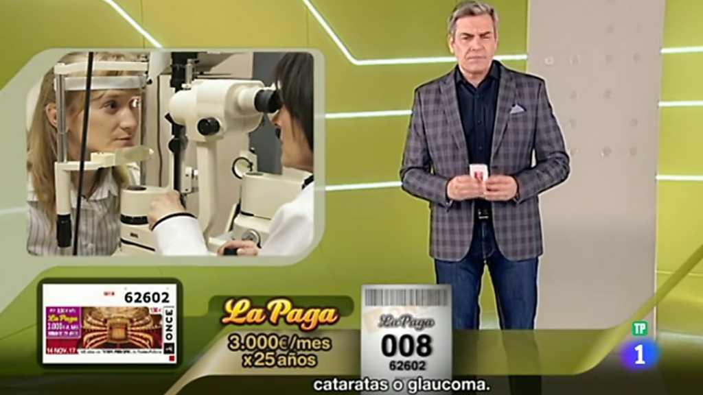 Sorteo ONCE - 14/11/17