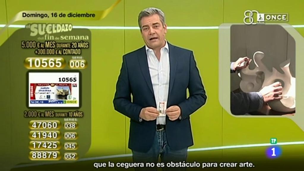 Sorteo ONCE - 16/12/18
