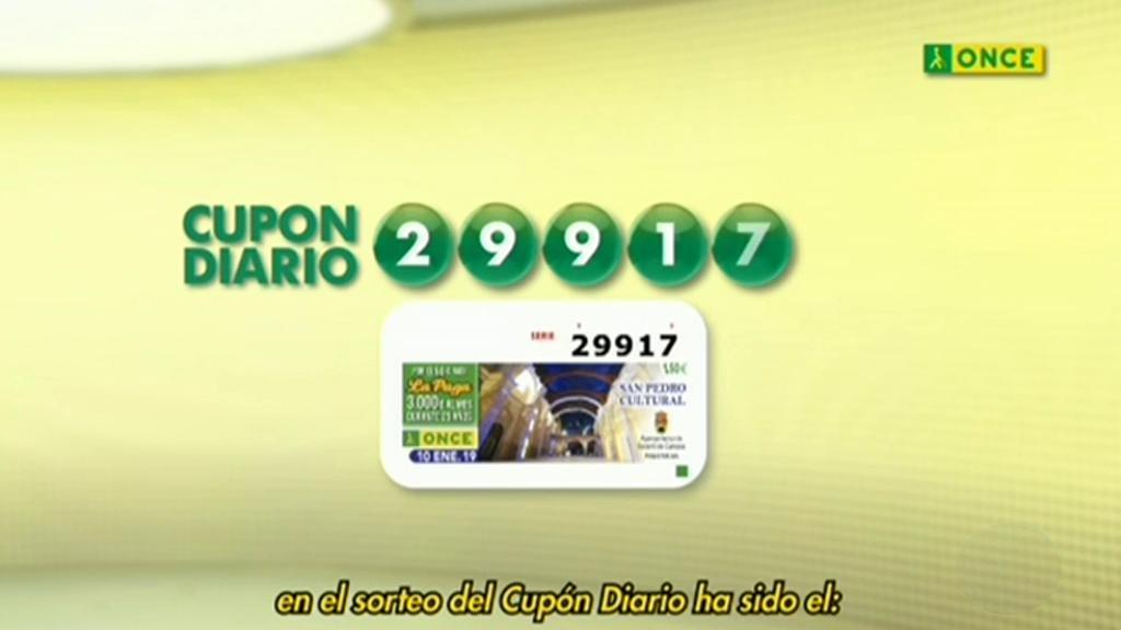 Sorteo ONCE - 17/01/19